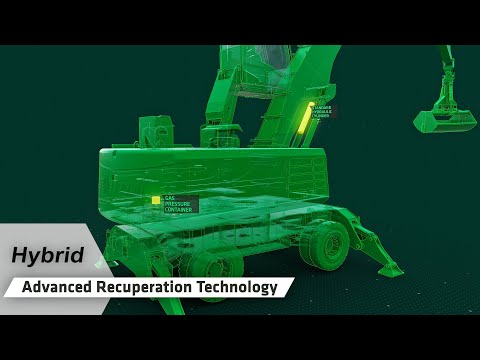 The SENNEBOGEN Green Hybrid Principle - Advanced Recuperation Technology (English)