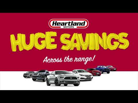 Heartland Motors' Birthday Sale