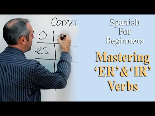 Mastering 'ER' and 'IR' Verbs | Spanish For Beginners (Ep.6)