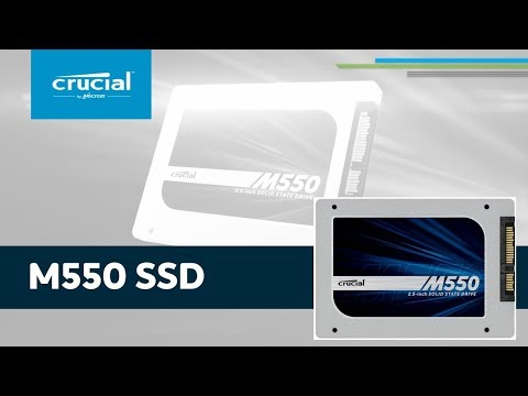 Crucial M550 SSD - Product Tour