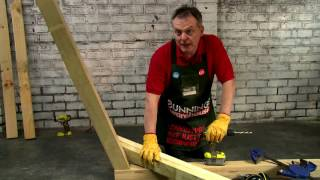 How To Make A D.I.Y. Hammock Stand - D.I.Y. At Bunnings