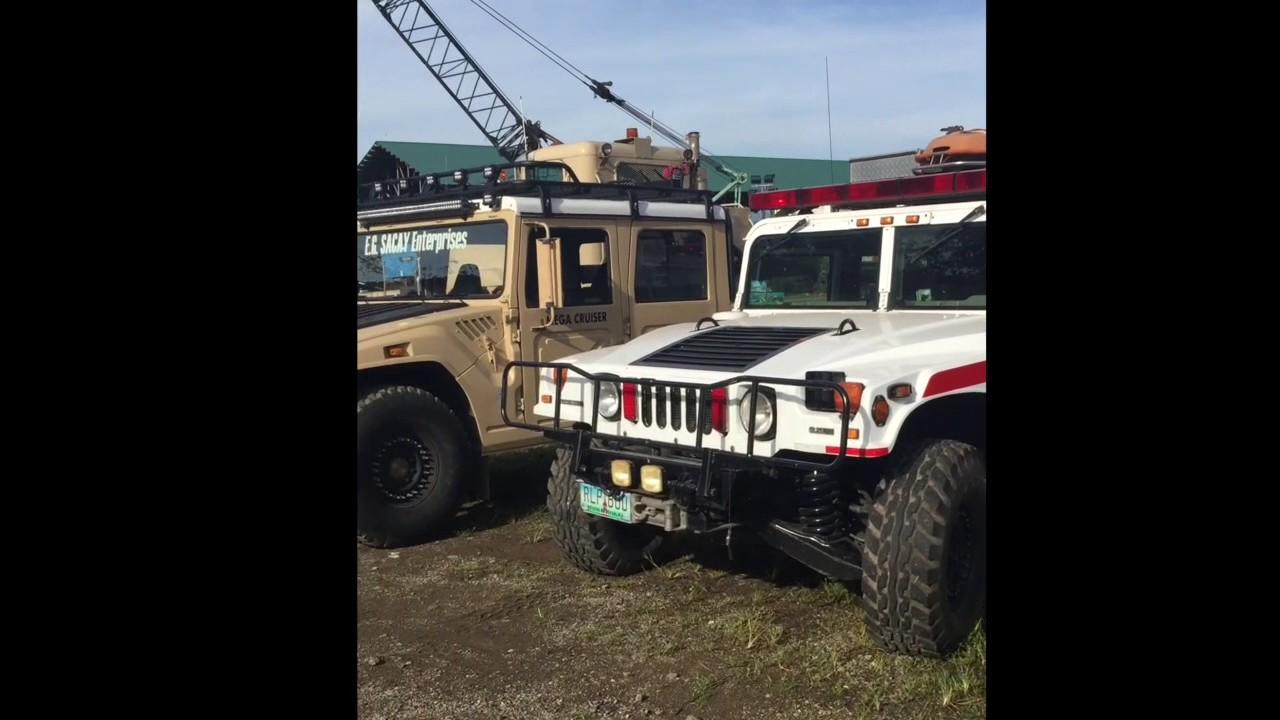 FJ Cruiser Hummer H1 Toyota Megacruiser  YouTube