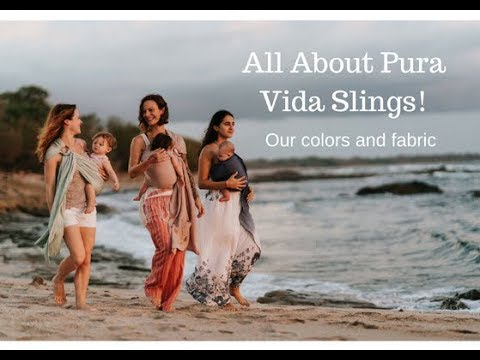 d0e62b31d6d Pura Vida Slings - A look at our ring sling colors and the story of our our  fabric