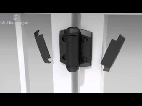 TruClose Series 3 Self-Closing Hinges Installation Animation