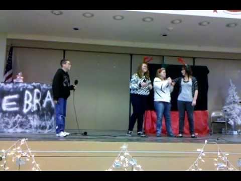 Vandenberg Middle School Drama Zebra Skit 12:17:10