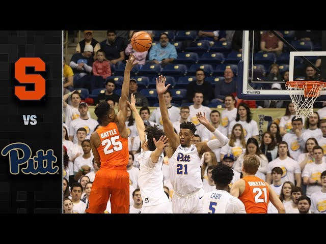 Syracuse Orange V Pittsburgh Tv Streaming Time Odds History