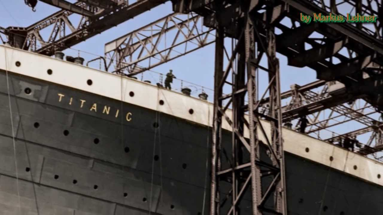 titanic a virtuel tour to 1912 in color and hd