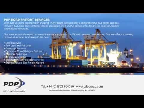 PDP Freight Forwarding Heathrow LHR Road Air Sea Freight