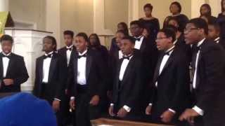 Cass Tech High School Concert Choir- Ezekiel Saw De Wheel by Moses Hogan