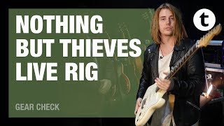 '70 Les Paul through Motherships | Nothing but thieves | Live Rig