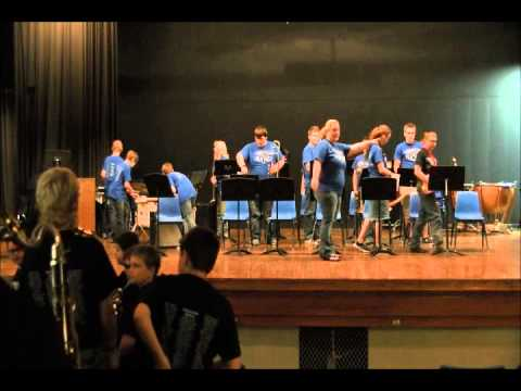 2014-2015 Checotah Band Program Music DVD