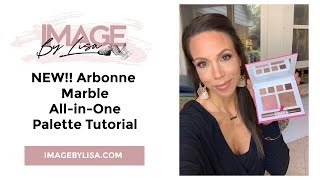 NEW!! Arbonne Marble All-in-One Palette Tutorial