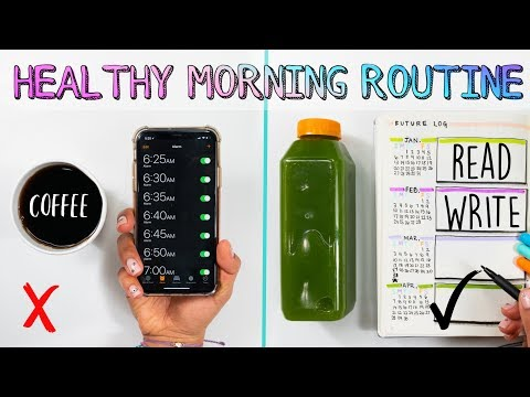 🔅My 5AM Healthy Morning Routine✨How To Be Happier & More Productive in 2019! 🌈