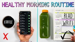 Happy new year!✨who's ready for a happier, more productive 2019? today i'm sharing my 5am healthy morning routine. i hope this motivates you to wake up earli...