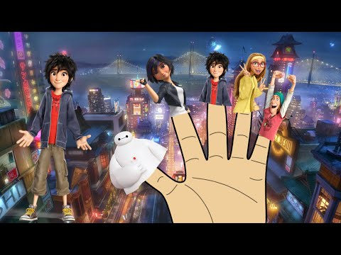 Big Hero 6 Finger Family Collection Big Hero 6 Finger Family Songs Big Hero 6 Song