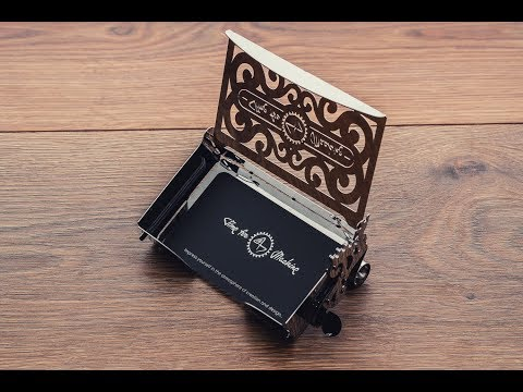 Perfecto Card case — «The most beautiful construction set in the world»