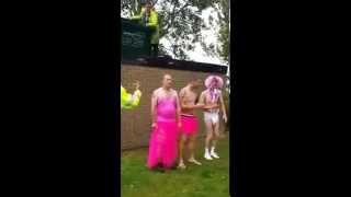 shaun , aaron,richie ice water challange at ashcroft coat holiday park kent ,uk