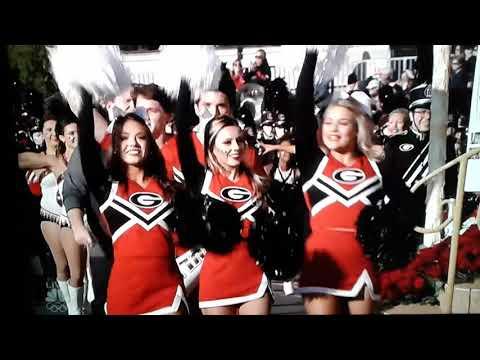UGA  Redcoat marching band  Rose Parade 2018