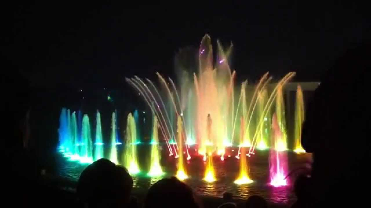 Futuroscope Spectacle De Nuit De 2014 (720p)  Youtube