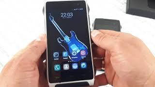 Купить защищенный водонепроницаемый смартфон IP68 Homtom ht20 видео обзор ударопрочного телефона Pro