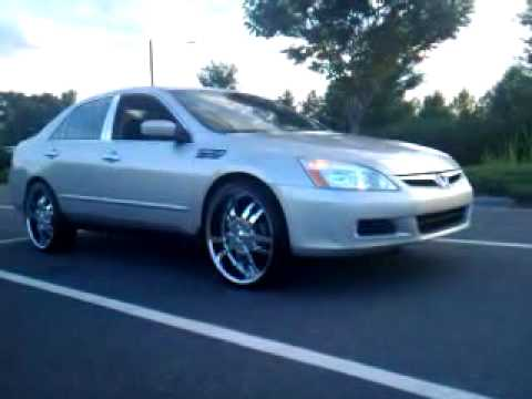 04 honda accord slammed on 22 39 s doovi. Black Bedroom Furniture Sets. Home Design Ideas