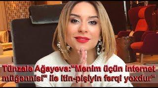 """Tünzalə Ağayeva:""""Mənim üçün internet müğənnisi"""" ilə itin-pişiyin fərqi yoxdur"""""""