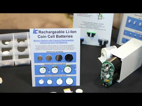 Rechargeable Lithium Ion Coin Cell Batteries
