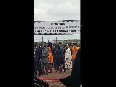 Ceremonie de pose de la première pierre Douala Mall & Business Spark