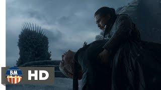 Джон Сноу убивает Дейнерис|Игра Престолов 8 сезон 6 серия