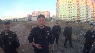 Побег от полиции / Epic escape from the police / Police vs Roofers / Побег от охраны