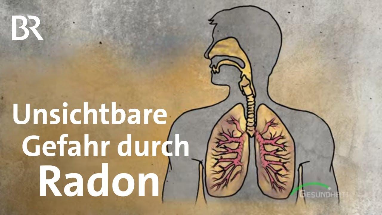 Eine der gefährlichsten Ursachen für Lungenkrebs: Was ist Radon? Die Gefahr aus dem Boden | BR