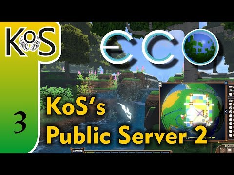 Eco Ep 3: EBULLIENT CREATIVITY! - Multiplayer - Voxel Builder/RPG - Let's Play