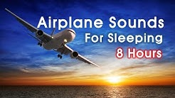 Airplane Cabin Sounds for Sleeping,  중간광고없는 비행기 소리, White Noise 화이트노이즈, Airplane Relaxation, 자장가