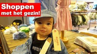 SHOPPPEN MET HET HELE GEZIN! (POEH POEH) - De Nagelkerkjes #67
