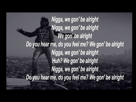 Kendrick Lamar - Alright ( HD  Lyrics And  Original Song )