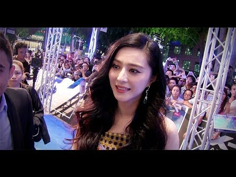 Fan Bingbing at the 'X-Men: Days Of Future Past' Singapore premiere