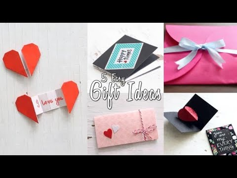 5 Easy Gift Ideas Youtube