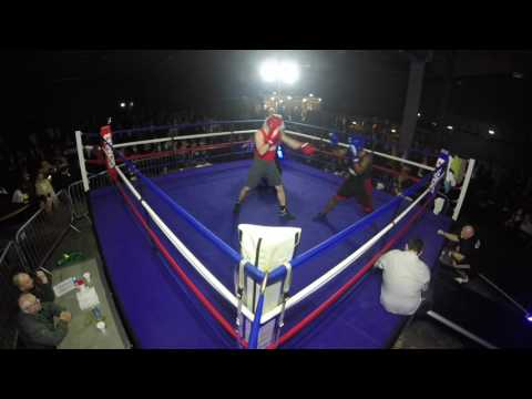 Ultra White Collar Boxing | Manchester | Chris Brown VS Adrian Wallace