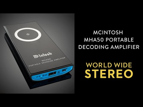 Review: McIntosh MHA50 Portable Decoding Headphone Amplifier