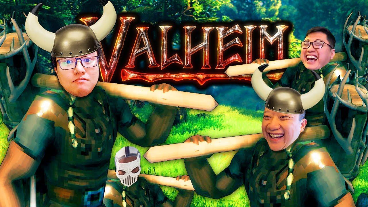 VALHEIM #1: CÙNG CHƠI GAME COOP ĐANG HOT NHẤT STEAM, 300.000 NGƯỜI CHƠI CÙNG LÚC !!!