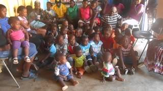 Ikhaya Lami children singing
