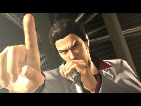 Yakuza 5- Karaoke: Machine Gun Kiss (Kiryu) [with and without Haruka]