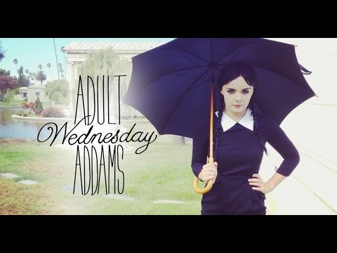 Adult Wednesday Addams Season 1