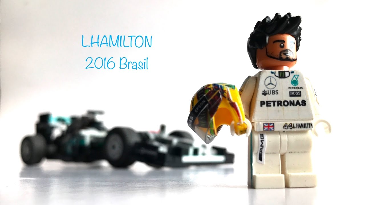 lego formula 1 mercedes amg w07 l hamilton 2016 brasil 1 amg w07 2016. Black Bedroom Furniture Sets. Home Design Ideas