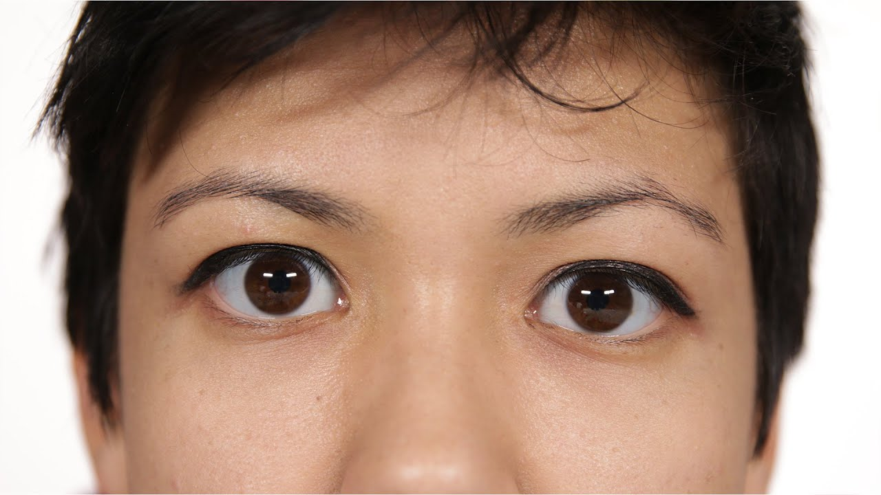 Chinese With Natural Big Eyes