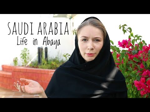 Saudi Arabia. Life in Abaya