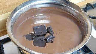 Шоколадный крем рецепт - Шоколадная глазурь(Мы подготовили шоколадным кремом рецепт пирога для вас. Смотреть наше видео и узнать, как простой пирог..., 2014-10-26T20:04:49.000Z)