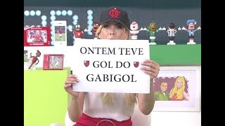 Flamengo atropela Palmeiras e Renata Fan alopra Denilson