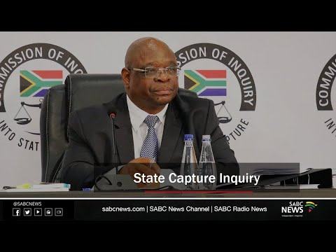 State Capture Inquiry, 27 October 2020