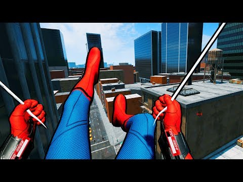 Official VR Spider-Man Game Is Hilarious & Surreal!